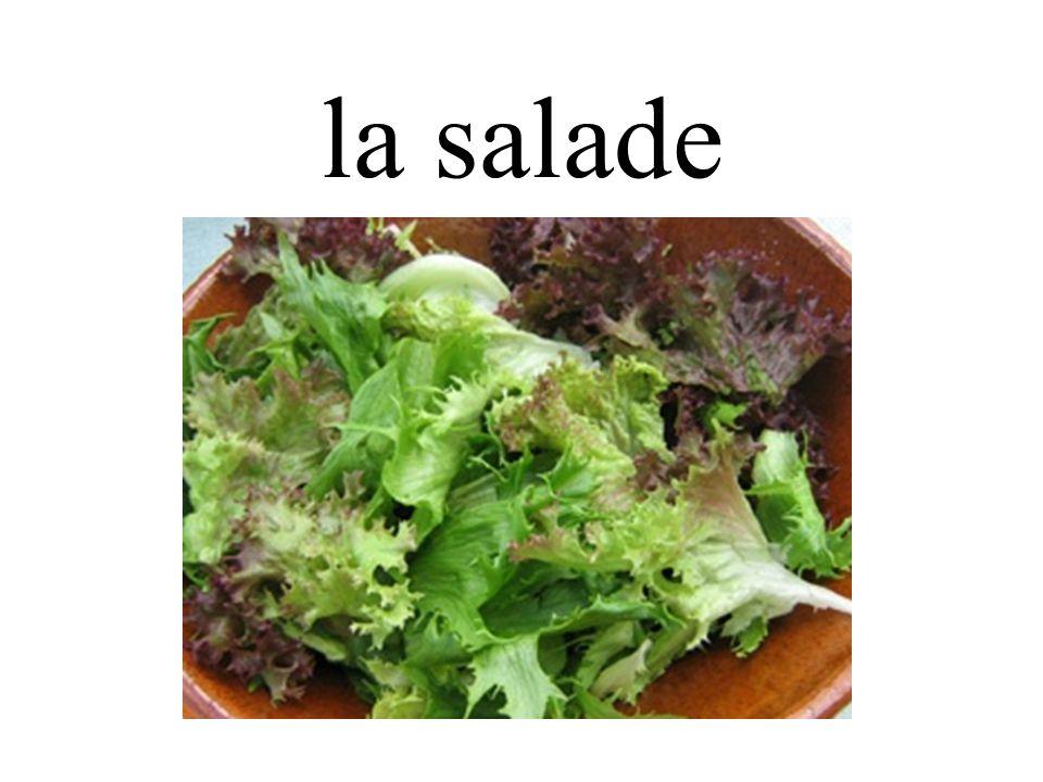 la salade
