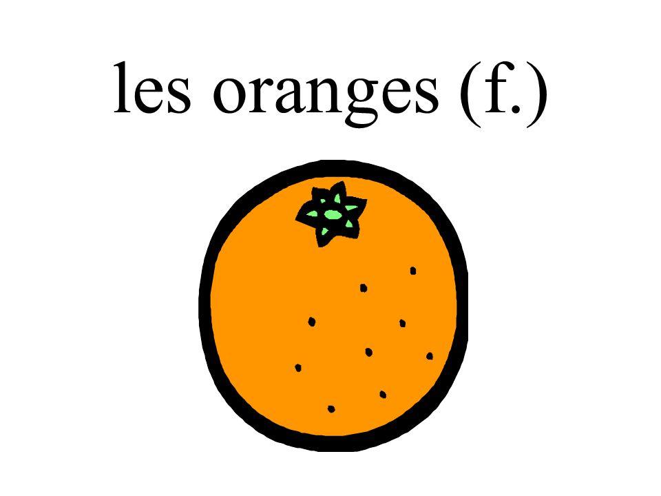 les oranges (f.)