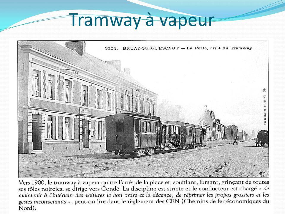 Tramway à vapeur