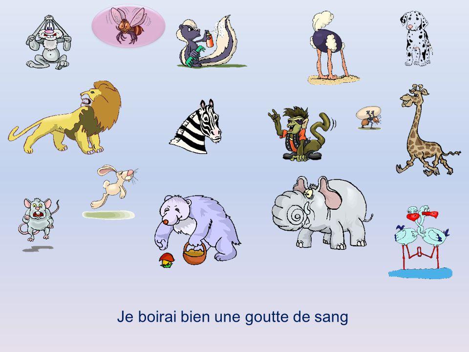 Cliquez sur l'animal qui pourrait dire la phrase proposée puis ensuite cliquer sur le pourtour de la forme qui apparait pour passer à la diapositive s