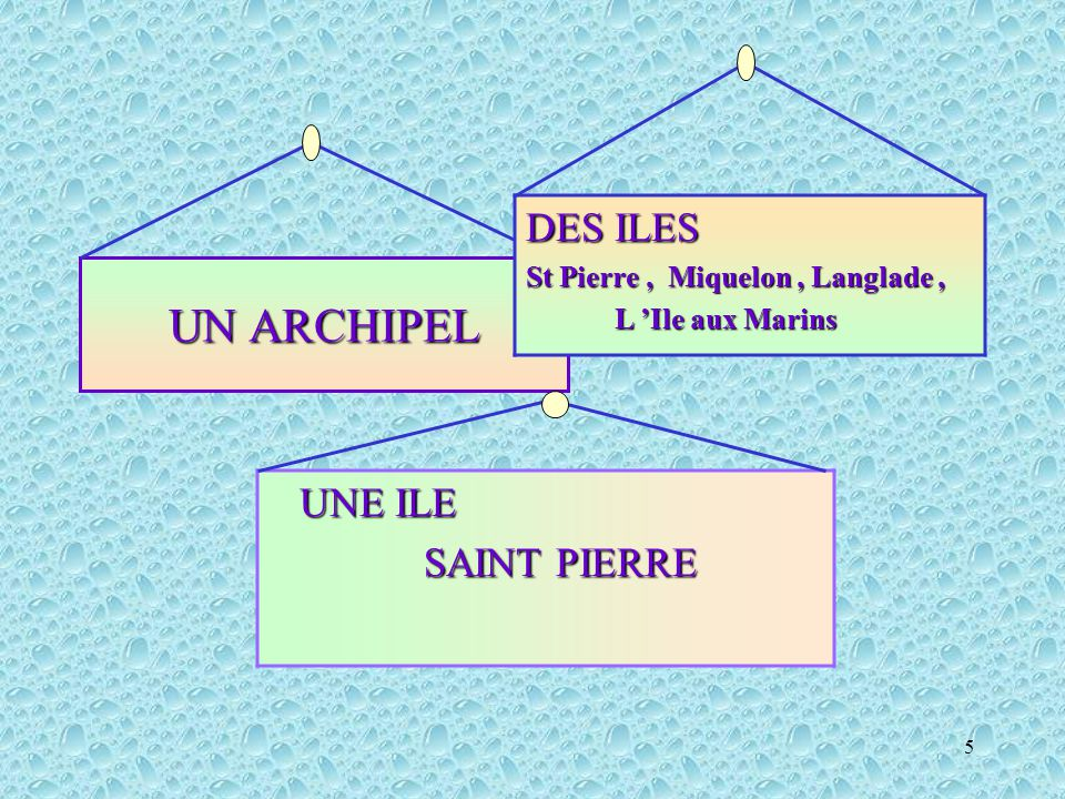 5 UN ARCHIPEL DES ILES St Pierre, Miquelon, Langlade, L 'Ile aux Marins L 'Ile aux Marins UNE ILE SAINT PIERRE SAINT PIERRE