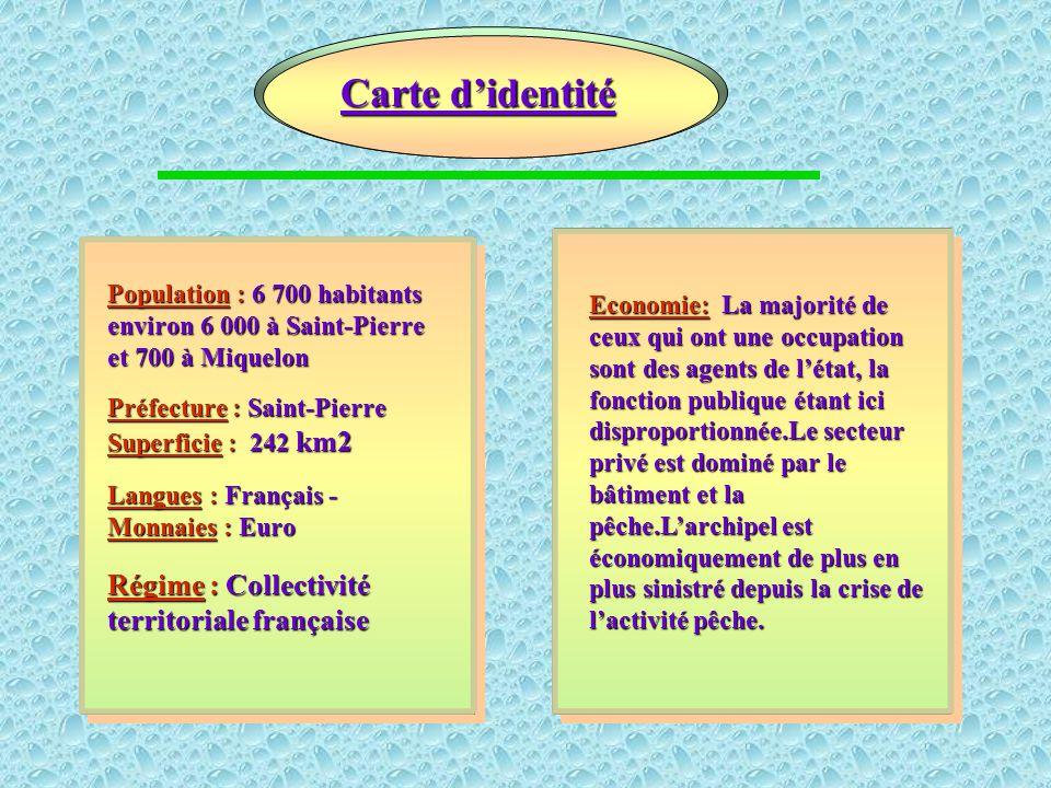 Saint-Pierre Saint-Pierre est le chef-lieu, le centre commercial et administratif de l'archipel. Avec une population de 6000 habitants, Saint-Pierre b