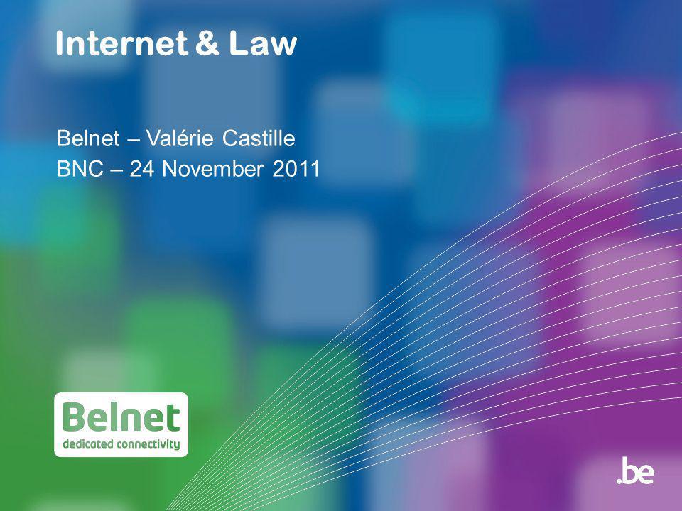 42 Internet & Law24.11.2011 Cloud Computing (13)  Onderaanneming: ° Wat als de cloud provider, op zijn beurt een overeenkomst heeft afgesloten waardoor de data in een andere cloud zijn opgenomen.
