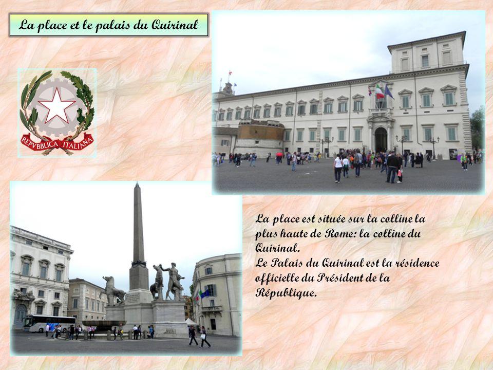 La place du Capitole Piazza del Campidoglio La Piazza Venezia