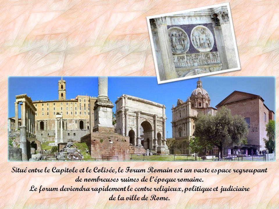La Rome antique Monument emblématique de la ville, le Colisée: avec ses 187 mètres de long, 155 mètres de large et 50 de hauteur, il pouvait accueilli