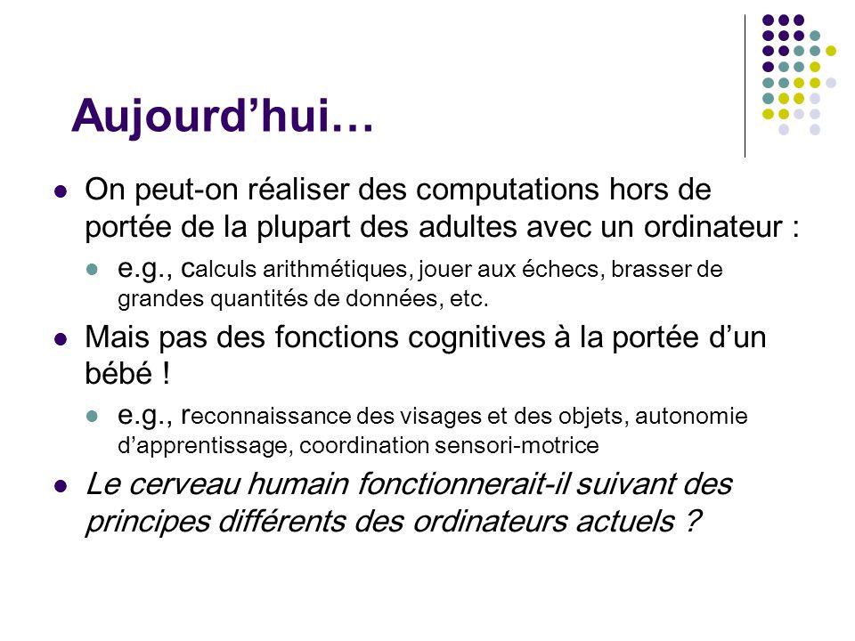8/20/201423 L'intelligence mimétique « raisonne »-t'elle .
