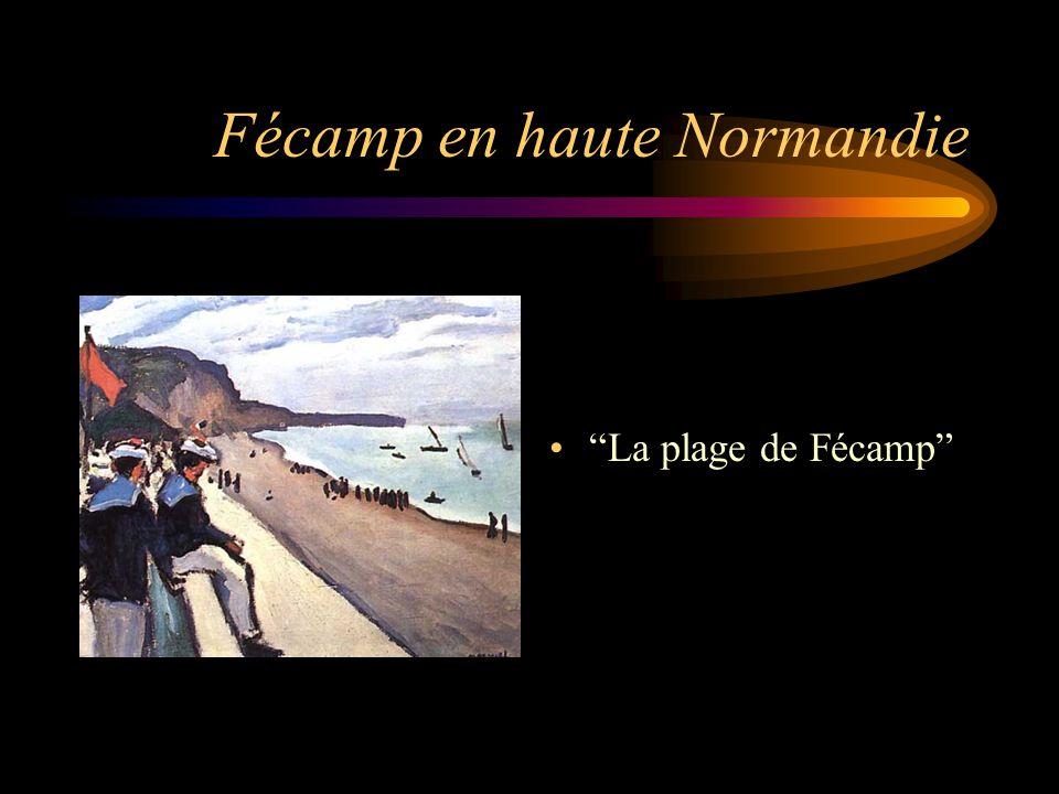 "Fécamp en haute Normandie ""La plage de Fécamp"""