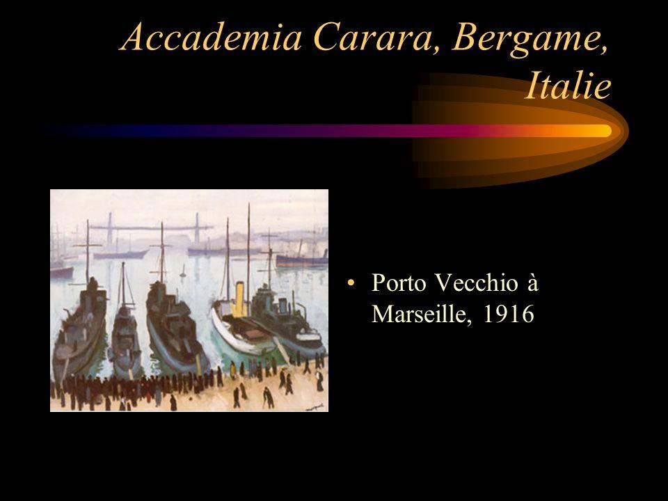 Accademia Carara, Bergame, Italie Porto Vecchio à Marseille, 1916