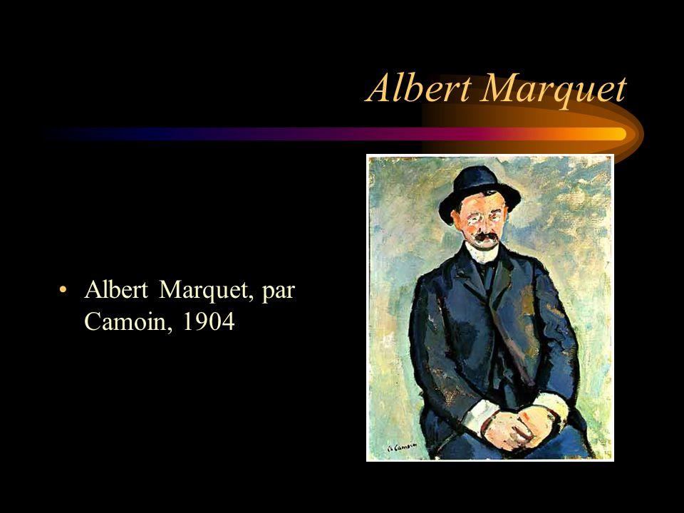 Albert Marquet Albert Marquet, par Camoin, 1904
