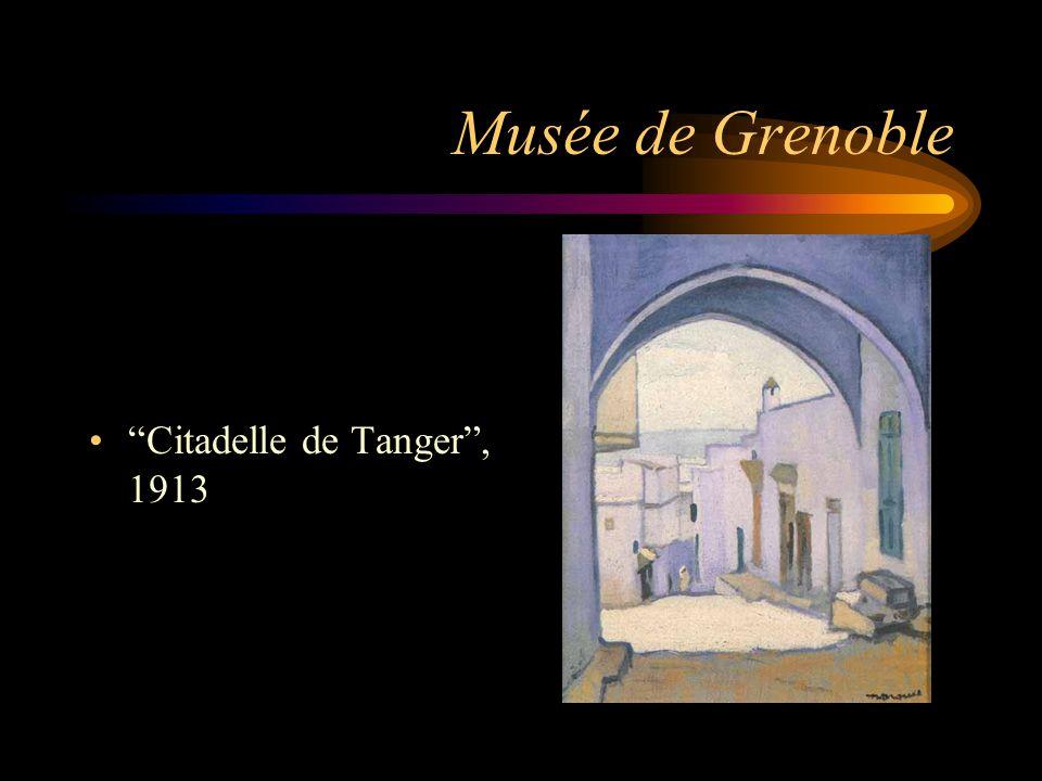 """Musée de Grenoble """"Citadelle de Tanger"""", 1913"""