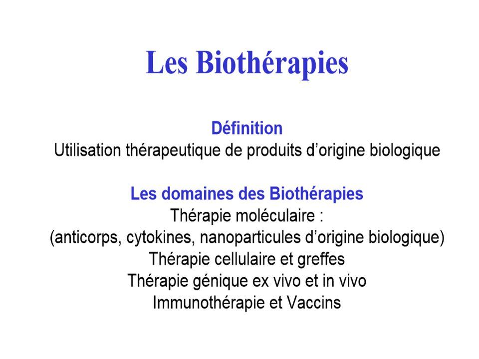 QCM : réponse Les biothérapies sont contre indiquées au cours d'une grossesse