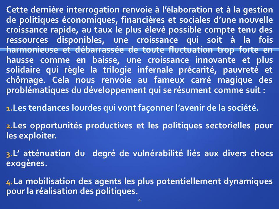 II/ L'industrialisation comme pivot des politiques sectorielles dans les économies émergentes.
