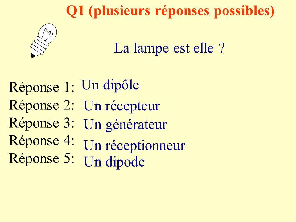 QCM Mr Malfoy Cinquièmes collège Lamartine Hondschoote Le Circuit électrique Chapitre 1