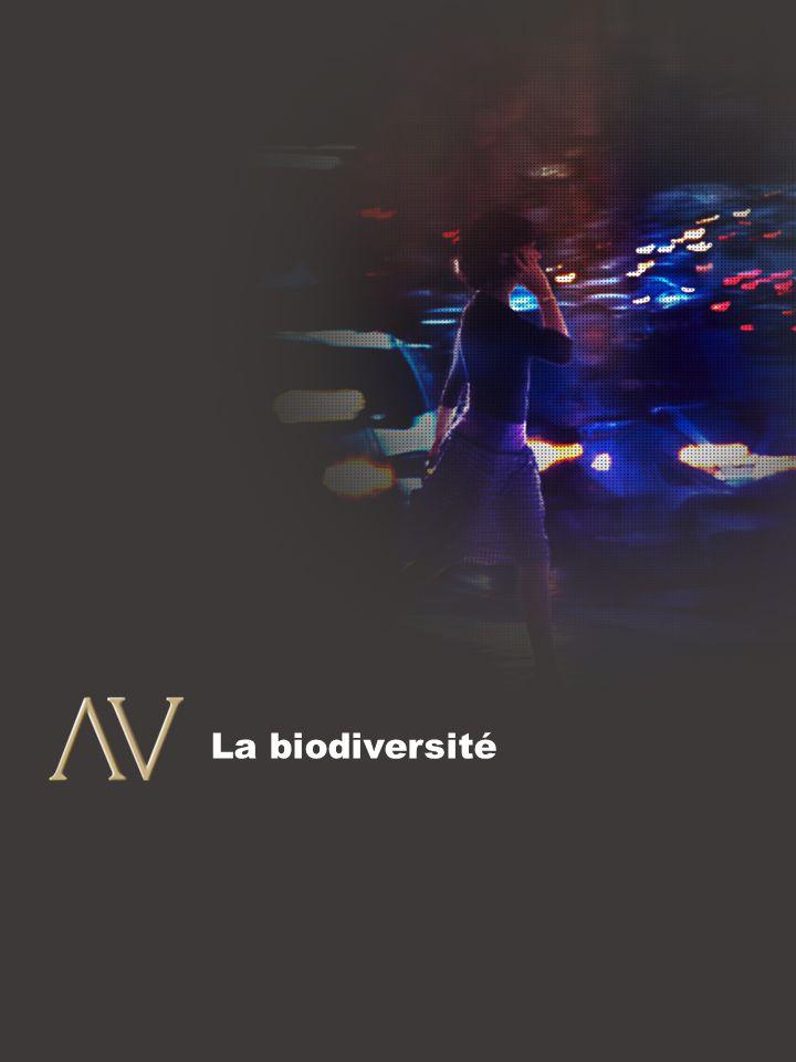 8 La biodiversité