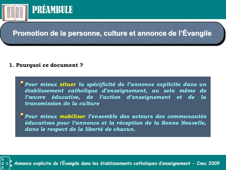 Annonce explicite de l'Évangile dans les établissements catholiques d'enseignement - Cnec 2009 Parolecélébrée Importance de l'Eucharistie, « source et sommet » de la vie chrétienne.