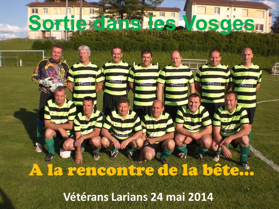 Sortie dans les Vosges Vétérans Larians 24 mai 2014 A la rencontre de la bête…