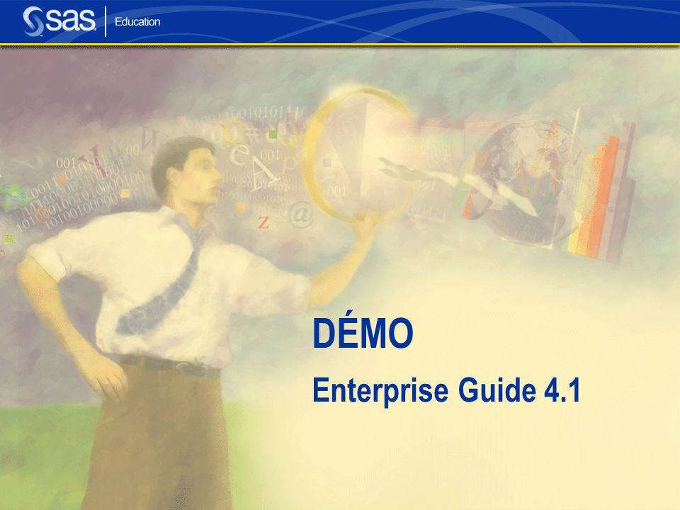 DÉMO Enterprise Guide 4.1