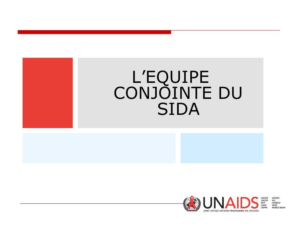 L'EQUIPE CONJOINTE DU SIDA
