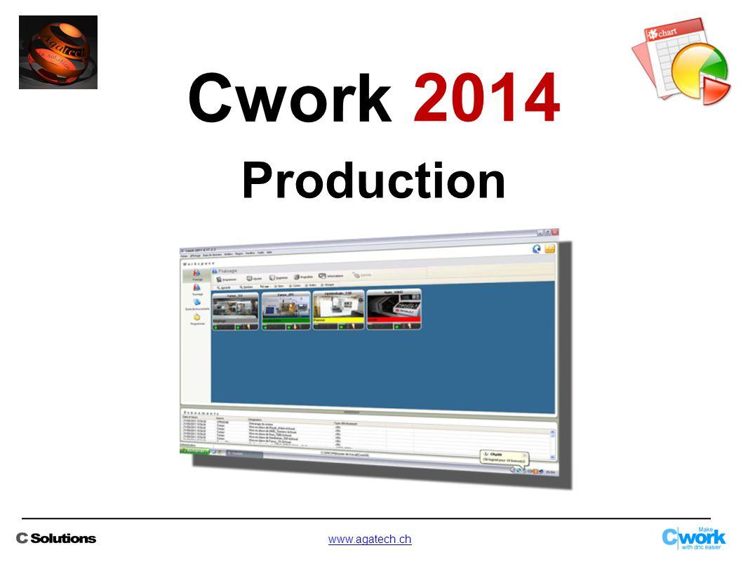 Production Cwork 2014 www.agatech.ch