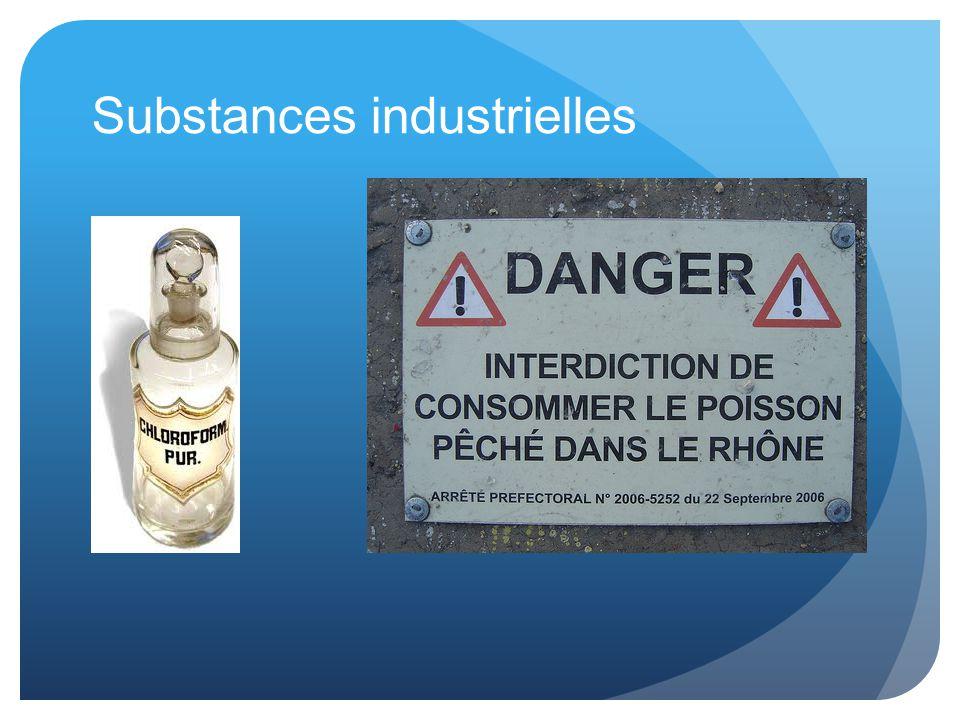 Substances industrielles