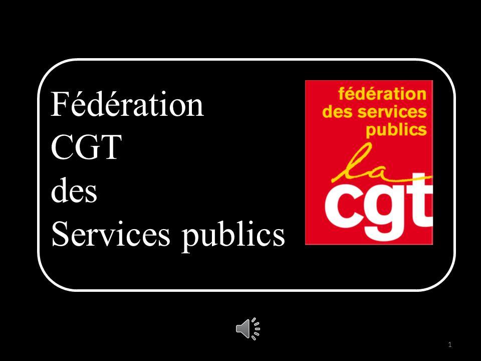 Fédération CGT des Services publics 1