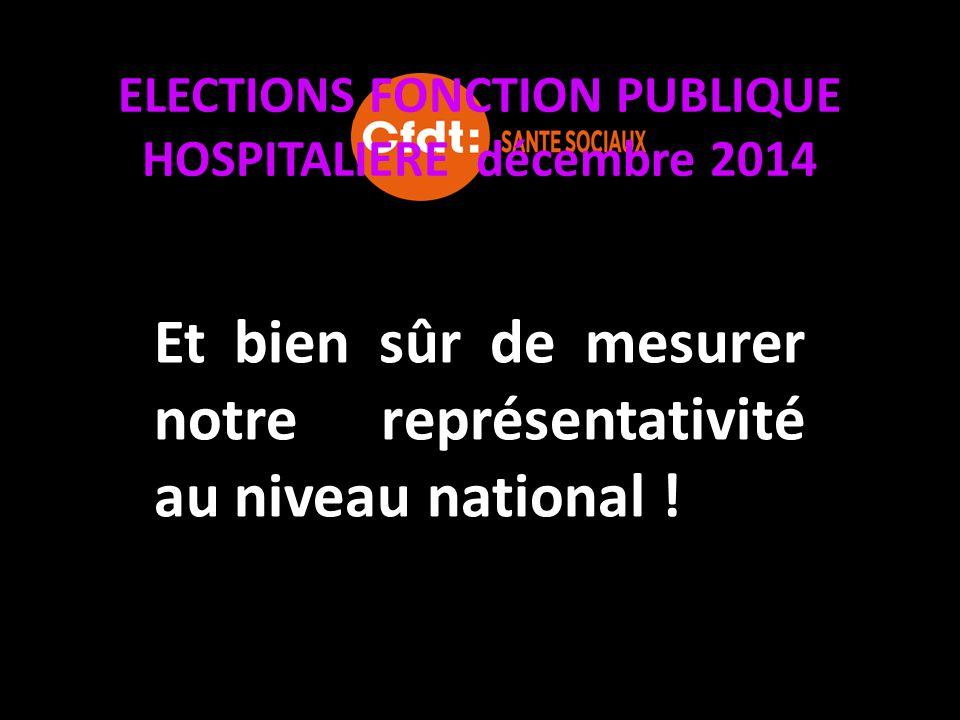 ELECTIONS FONCTION PUBLIQUE HOSPITALIERE décembre 2014 Le Comité Technique d'Etablissement (C.T.E) est une instance de concertation entre la Direction et des Représentants élus des Personnels.