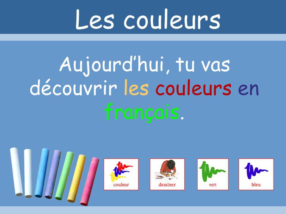 LescouleursLescouleurs Première année de français E n s e i g n e m e n t S e c o n d a i r e O b l i g a t o i r e