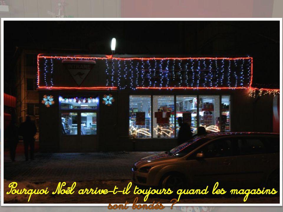 Fêtons Noël comme il viendra, et ne ronchonnons pas.