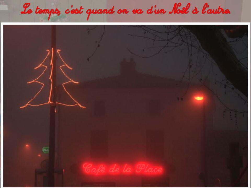 Bientôt Noël... Cette jolie période de l'année où l'on ne songe plus au passé ni au futur mais rien qu'aux présents !