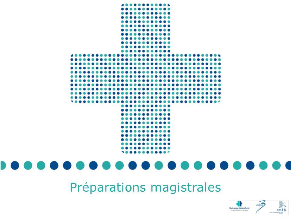 Quand le médecin généraliste et le pharmacien se rencontrent … Préparations magistrales Pour commencer … Prescrivez-vous ou préparez-vous beaucoup de préparations magistrales .