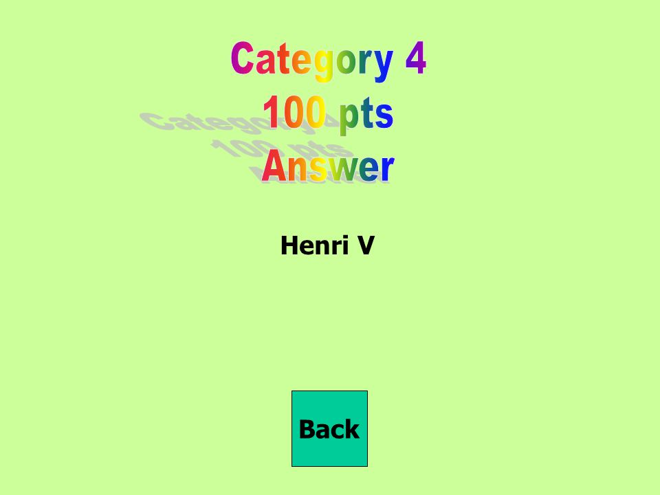 Henri V Back