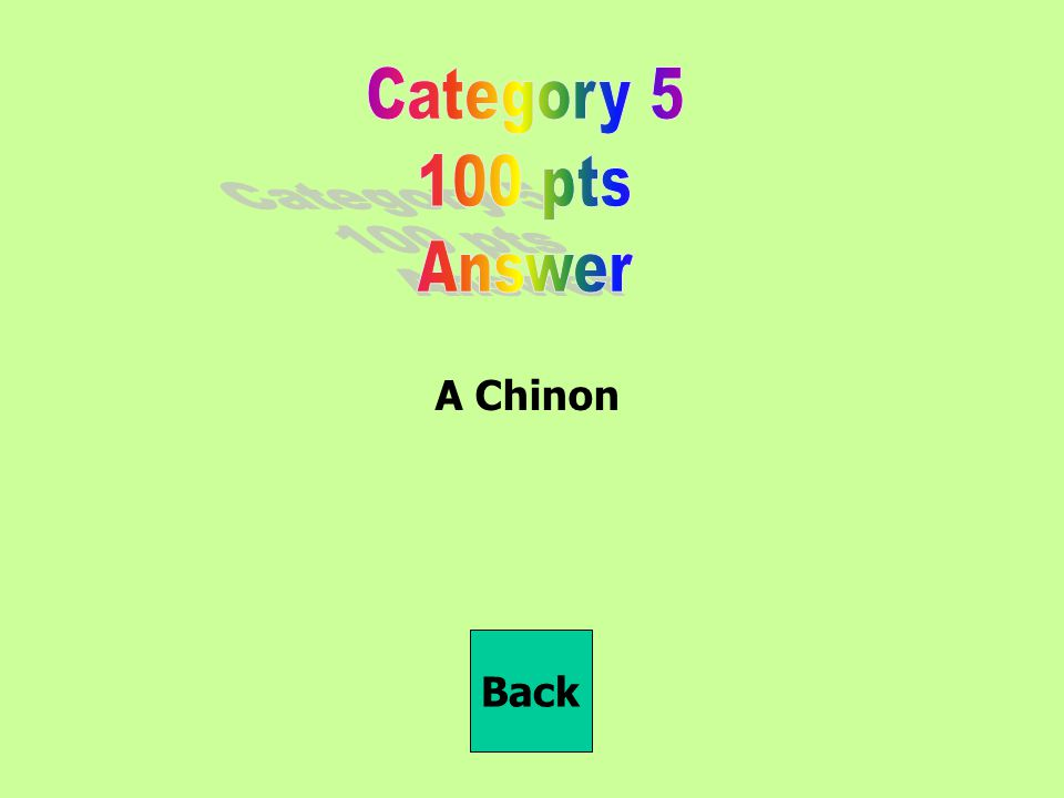 A Chinon Back