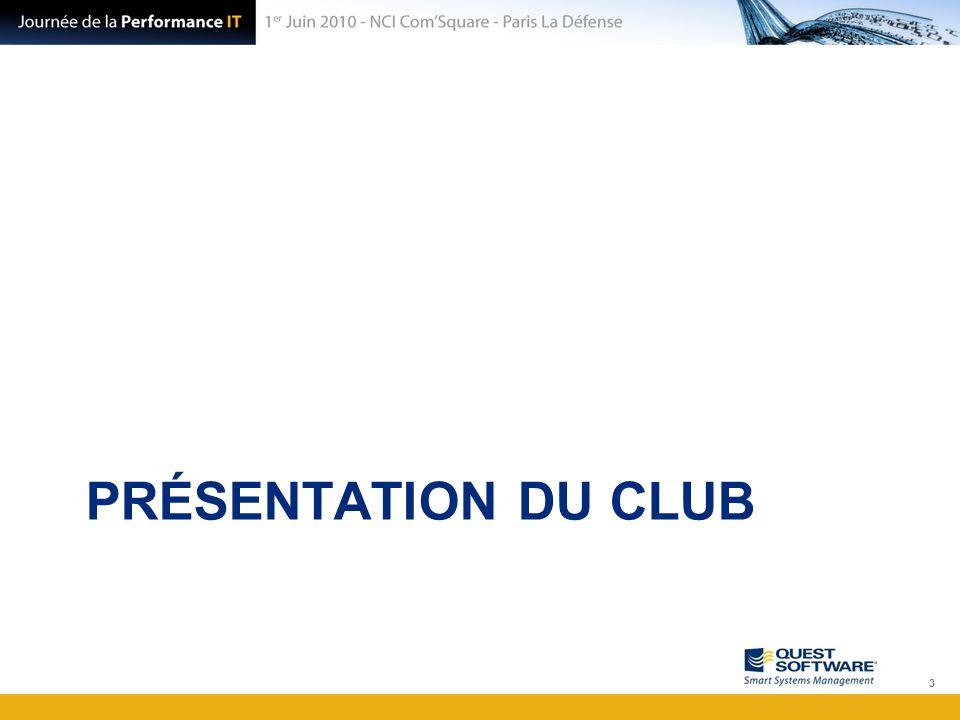 Présentation du Club SharePoint Le CLUB SHAREPOINT FRANCE est un espace communautaire et collaboratif centré sur les technologies SharePoint de Microsoft (SP2010 + OFFICE 2007 + SPS 2003 et MOSS ).