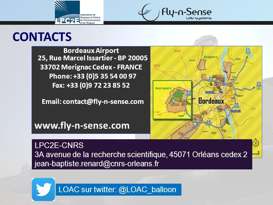 CONTACTS Bordeaux Airport 25, Rue Marcel Issartier - BP 20005 33702 Merignac Cedex - FRANCE Phone: +33 (0)5 35 54 00 97 Fax: +33 (0)9 72 23 85 52 Emai
