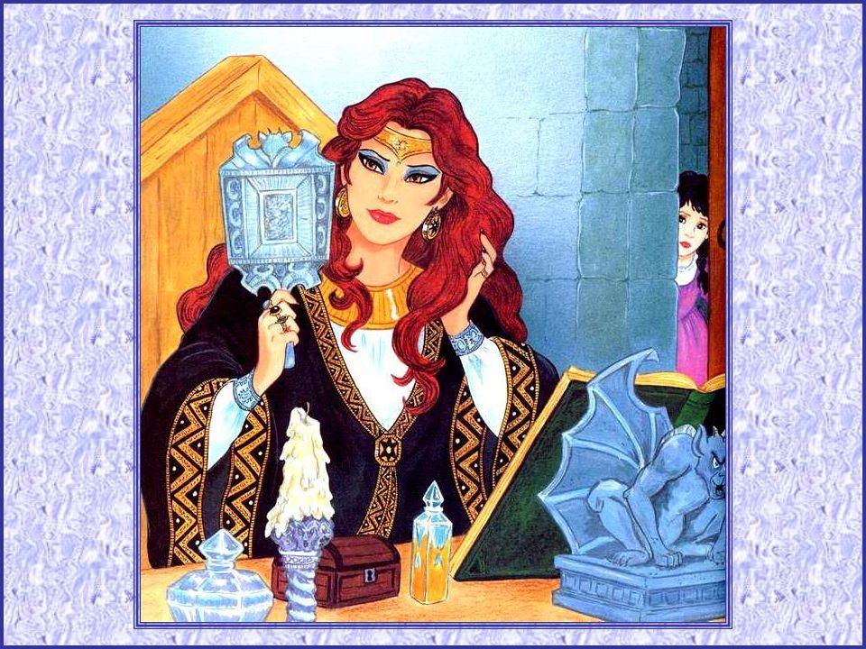 Un royaume ne peut rester sans reine, et le roi se remaria. Mais sa deuxième épouse n'aimait pas Blanche-Neige, qui grandissait à la cuisine avec les