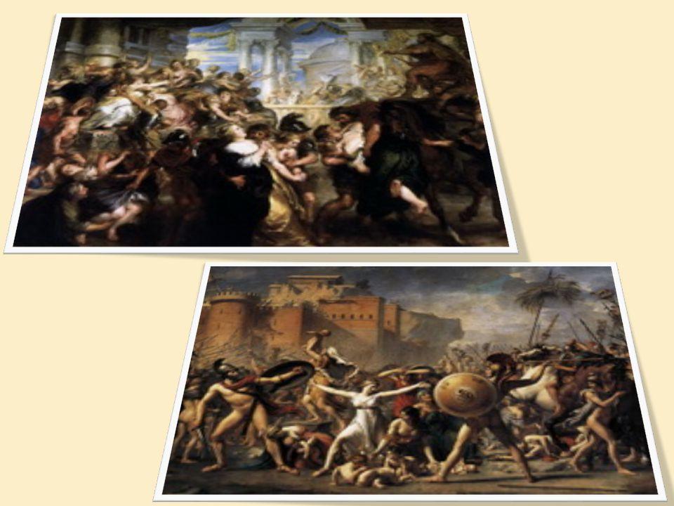 La Fondation de Rome Légende = Rome par Romulus en 753 av.