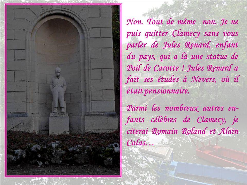 Simone ne me pardonnerait pas de quitter Clamecy sans vous parler de sa faïence .