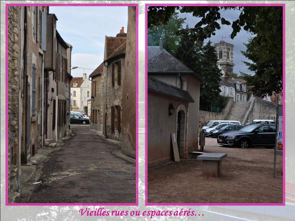 Vieilles rues ou espaces aérés…