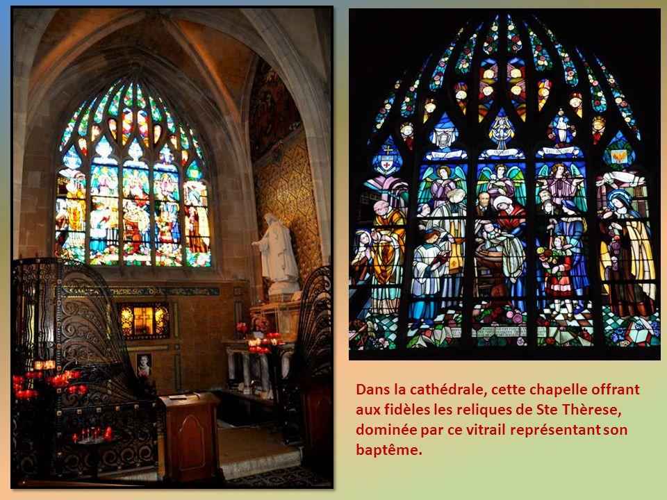 La splendide cathédrale d'Alençon.