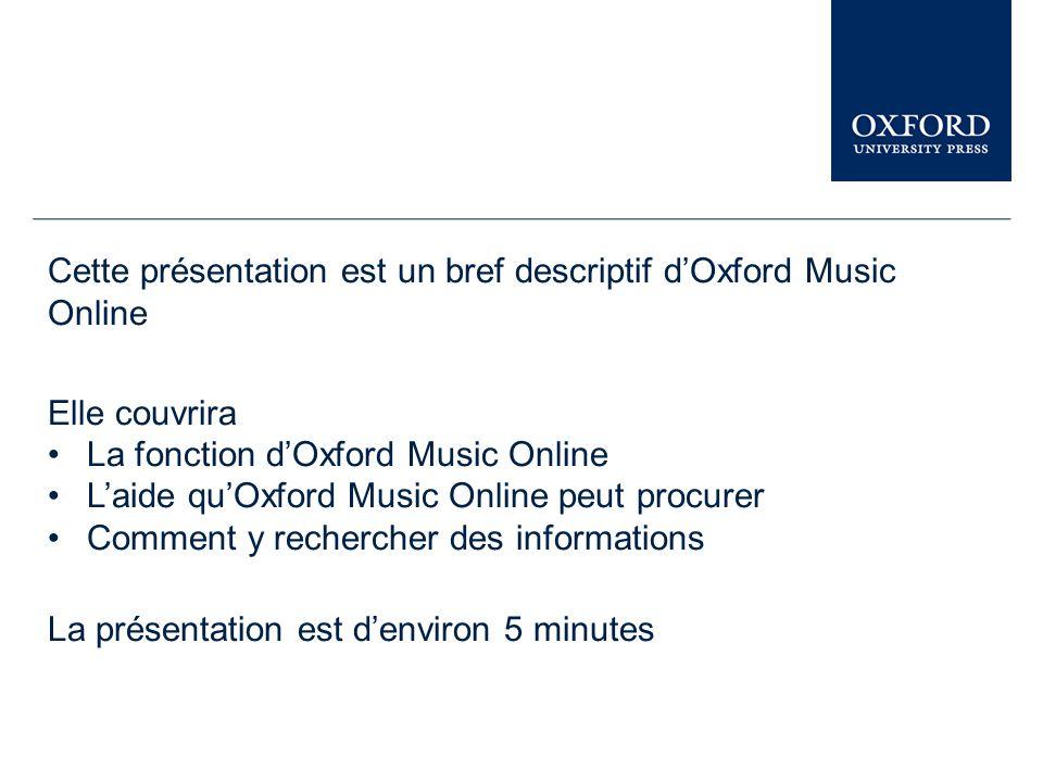 Ressources en Ligne D'Oxford University Press