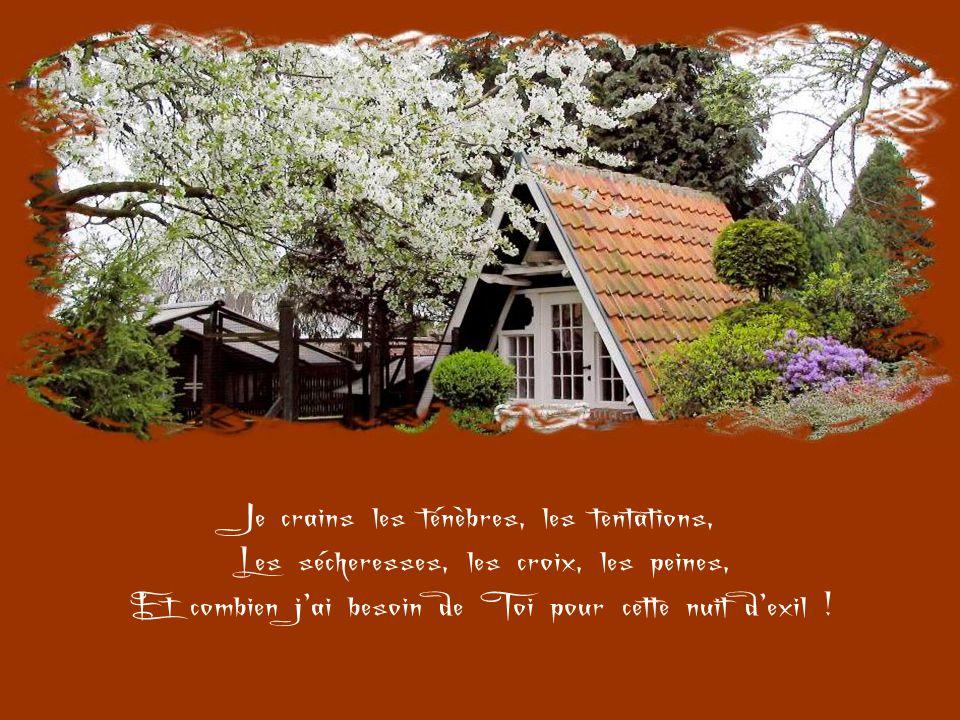 Reste avec moi, Jésus, parce qu'il se fait tard Et que le jour décline… C'est-à-dire que la vie passe, et que la mort, Le jugement et l'éternité appro