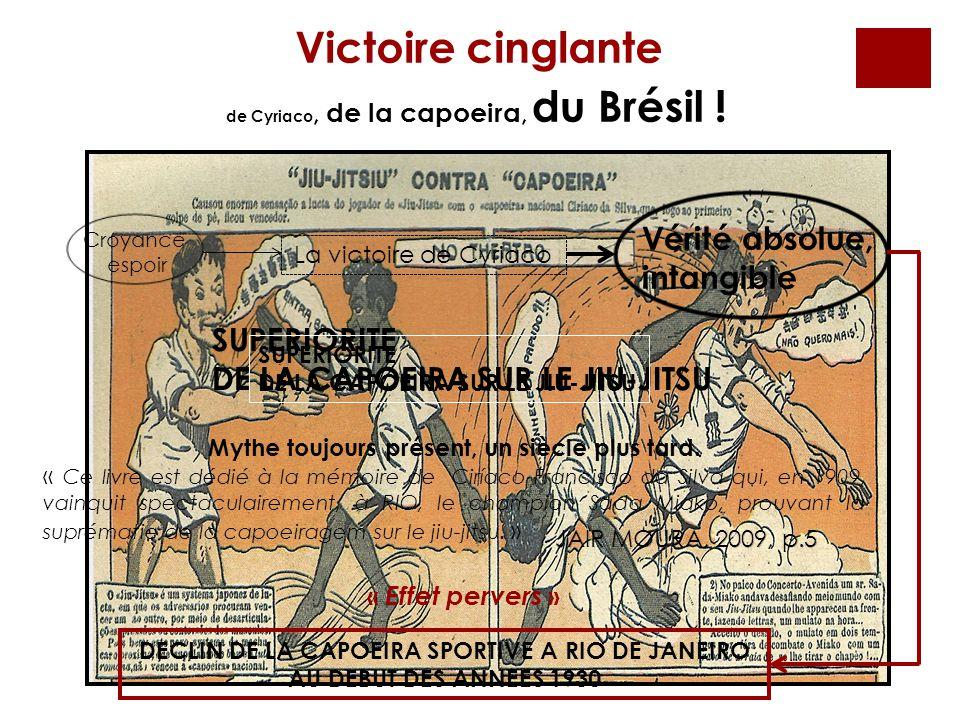 de Cyriaco, de la capoeira, du Brésil ! Victoire cinglante La victoire de Cyriaco Croyance espoir Vérité absolue, intangible SUPERIORITE DE LA CAPOEIR