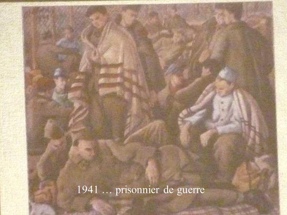 1941 … prisonnier de guerre