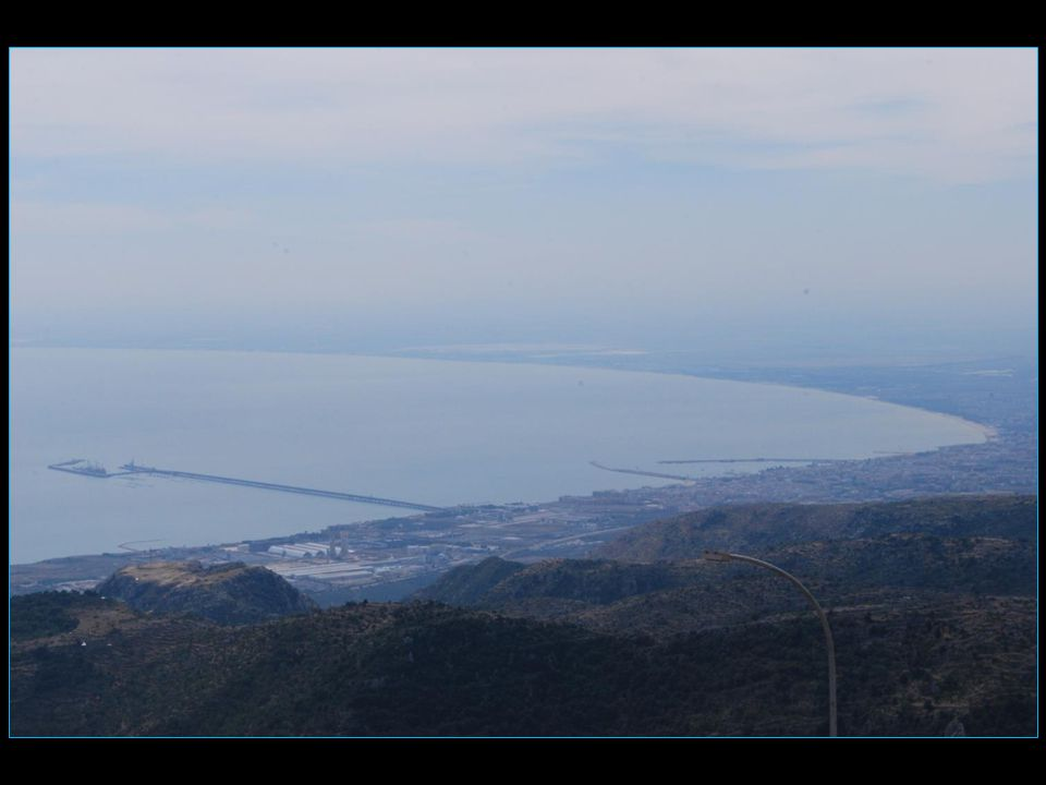 coup d'œil à la baie de Manfredonia