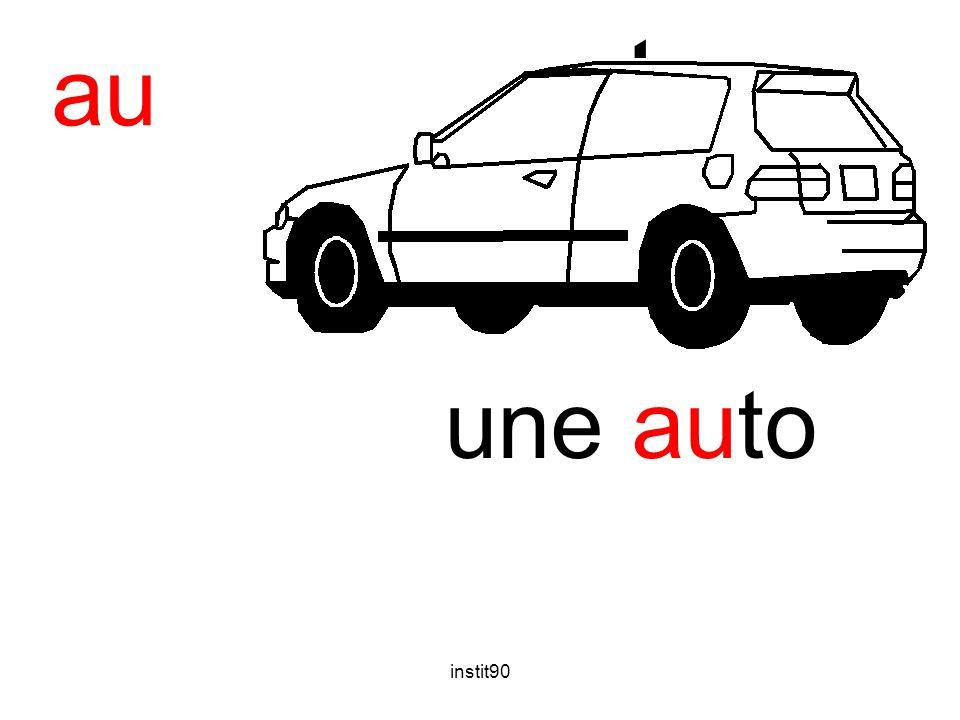 instit90 auto une auto au