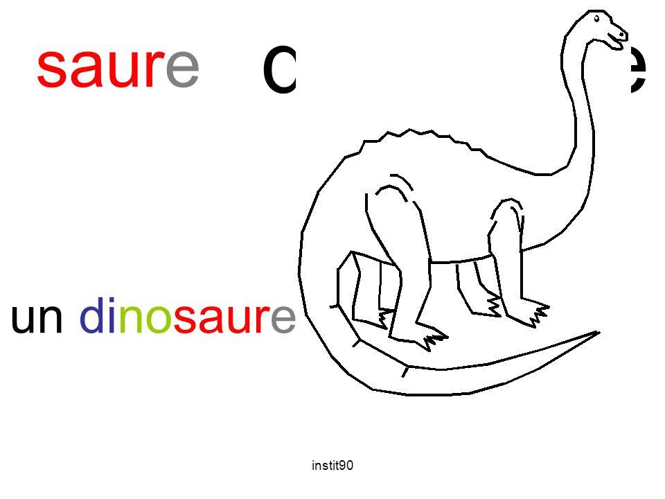 instit90 dinosaure saure un dinosaure