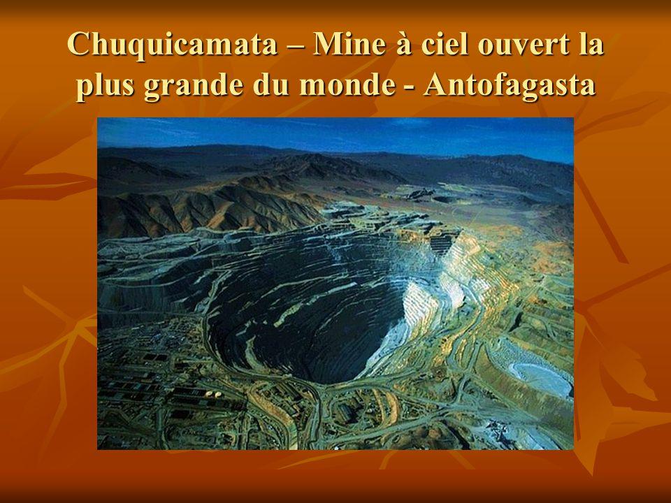 Chuquicamata – Mine à ciel ouvert la plus grande du monde - Antofagasta