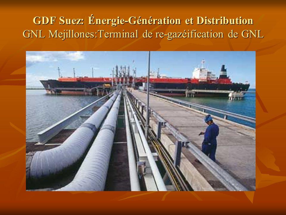 GDF Suez: Énergie-Génération et Distribution GNL Mejillones:Terminal de re-gazéification de GNL
