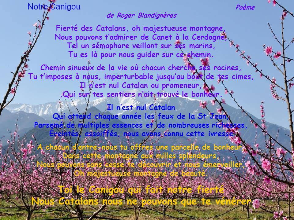 Pour la St Jean, la flamme que l'on allume au sommet de la Dent du Canigou, sert à faire briller tous les autres feux de la campagne catalane Et bien