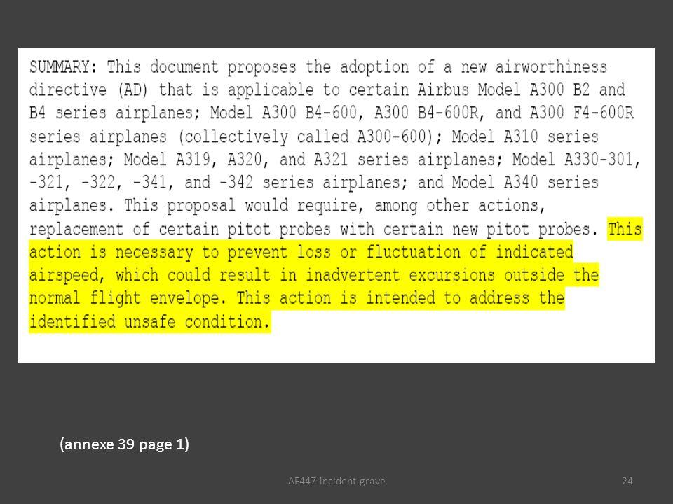 AF447-incident grave24 (annexe 39 page 1)